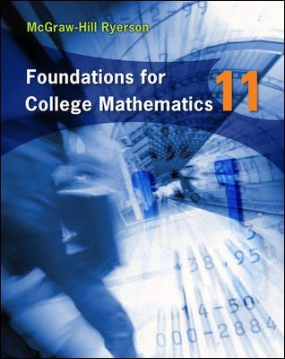 MBF3C Textbook - Foundations for College Mathematics 11